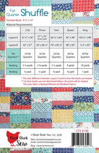 Load image into Gallery viewer, Fat Quarter Shuffle by Cluck Cluck Sew - PAPER Pattern