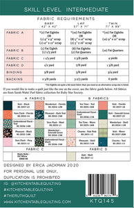 Ruth by Kitchen Table Quilting - PAPER Pattern