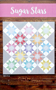 Sugar Stars by Hayes Stack Quilt Patterns - PAPER Pattern