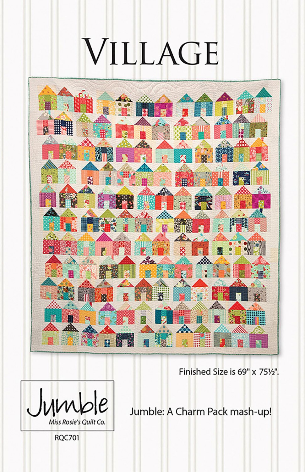 Village by Miss Rosie's Quilt Co - PAPER Pattern