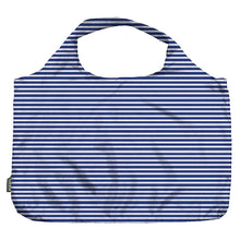 Load image into Gallery viewer, Pocket Shopper - Blue Pinstripe