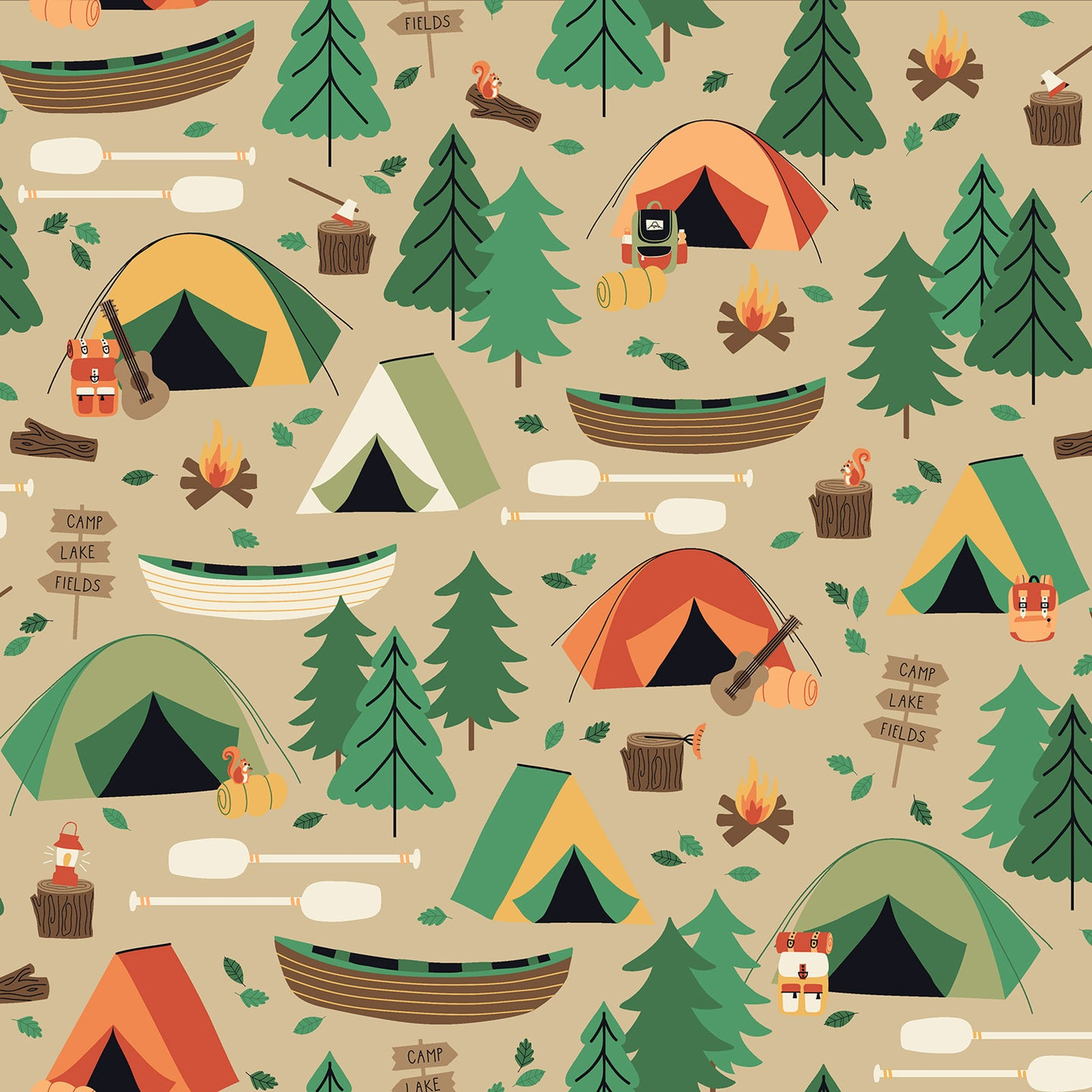 Camping Crew - Campground in Bark