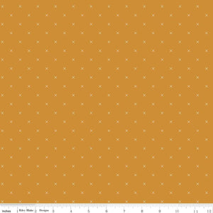 Bee Cross Stitch - Butterscotch