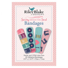 Load image into Gallery viewer, Sewing Mends the Soul - Bandages by Riley Blake Designs