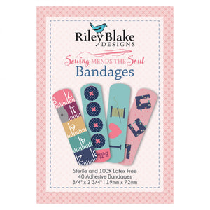 Sewing Mends the Soul - Bandages by Riley Blake Designs