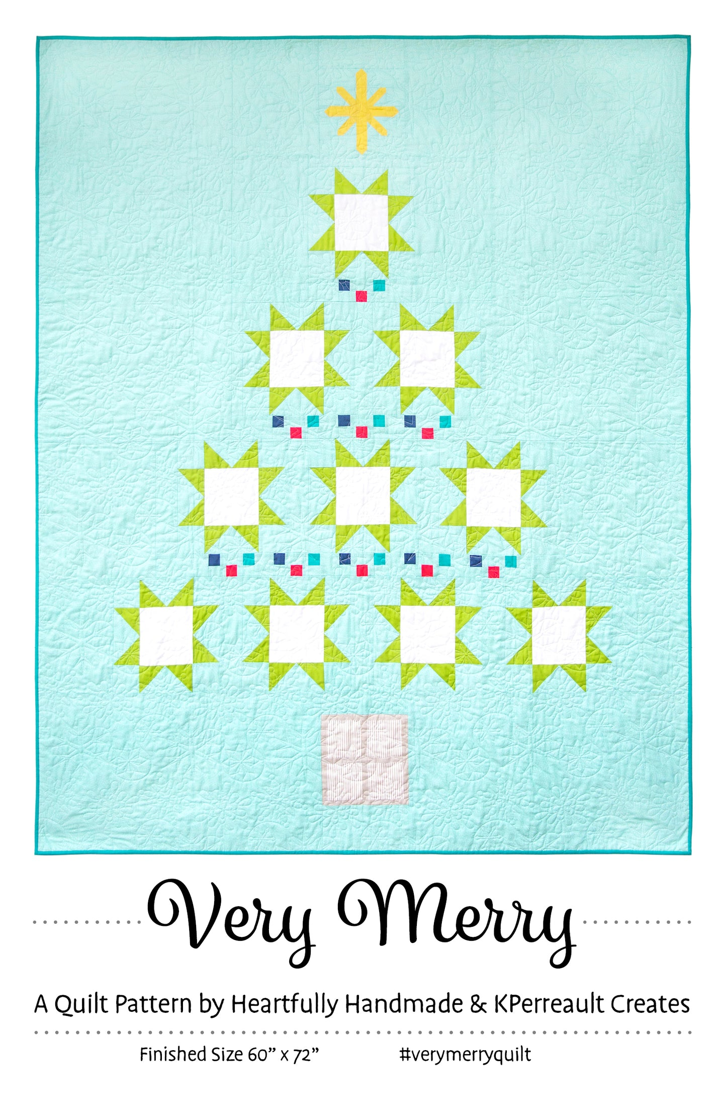Very Merry - PAPER Pattern