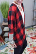 Kyledress Self Love Plaid Casual Cardigan