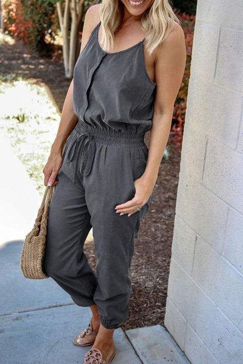 Kyledress Haley Solid Casual Jumpsuit