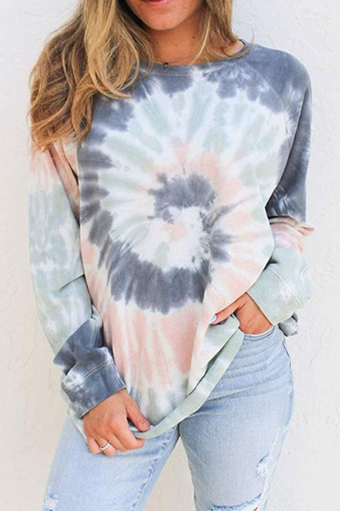 Kyledress Effie Casual Sunflower Tie Dye T-shirt
