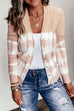 Kyledress Button Up Tie Dye Sweaters Cardigan