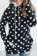 Kyledress Morgan Cute Heart Hoodie