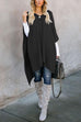 Kyledress  Eve Irregular Poncho Sweater