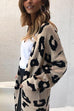 Kyledress Fashion Long Sleeves Leopard Cardigans