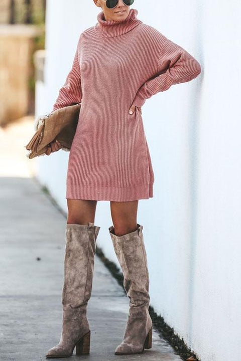 Kyledress  Betty Sweater Dress Mini Dresses