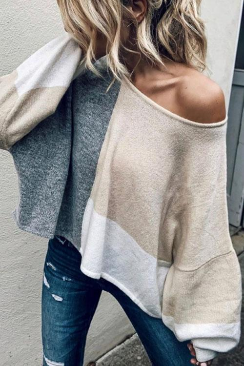 Kyledress Montage Casual Loose Sweater