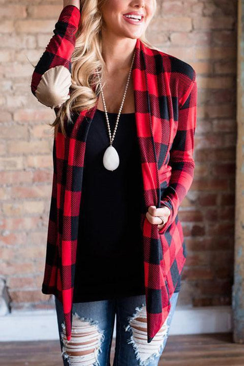 Kyledress Fashion Trellis Casual Cardigan
