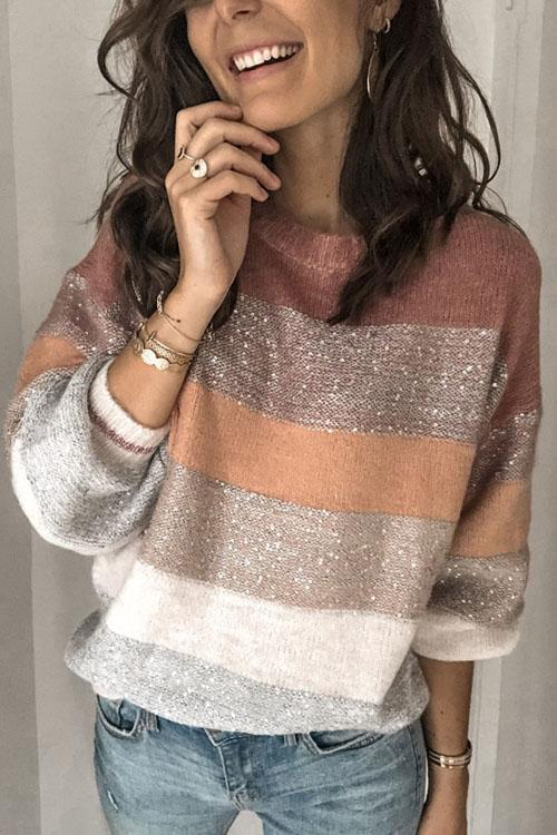 Kyledress Chic Sparking Knitting Sweaters