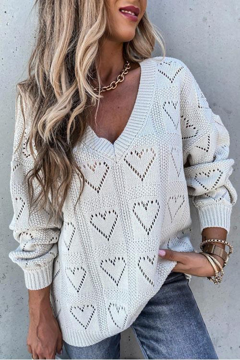 Kyledress Thank You For Your Love Casual Sweater