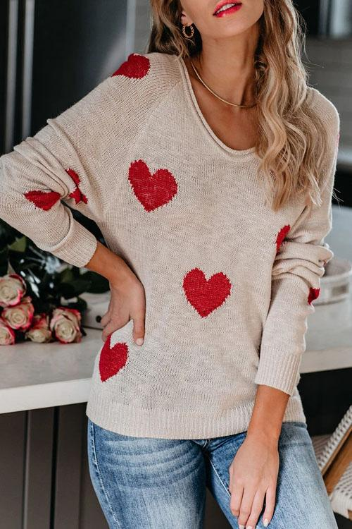Kyledress City Of Love Casual Loose Sweater
