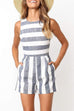 Kyledress Flos Wide Striped Romper