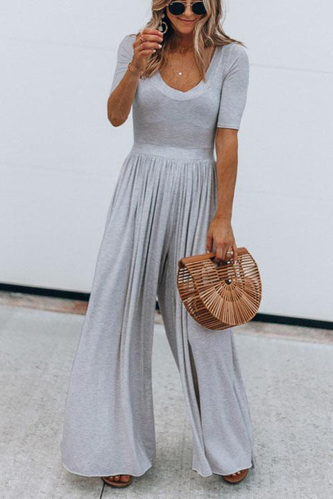 Kyledress Elegant Wide Leg Jumpsuit