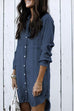 Kyledress Hot Sexy Denim Shirt Dress ( 4 Colors)