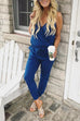 Kyledress Cross V Neck Jumpsuits