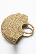 Kyledress Woven Straw Beach Tote