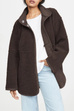 Kyledress Boyfriend Faux Shearling Coat