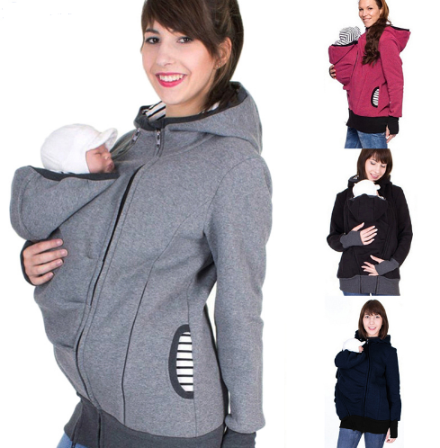 Multi-functional Mother Kangaroo Sweater