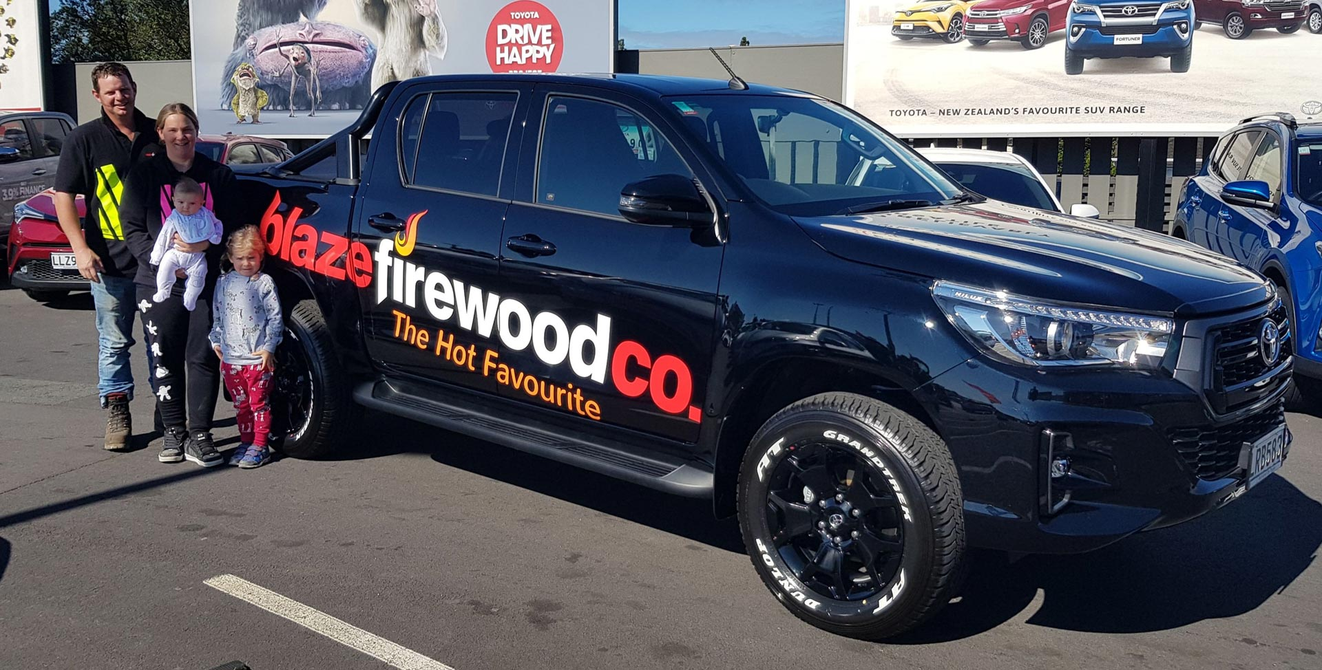 Blaze Firewood - Firewood Delivered in Auckland, Waikato & Tauranga