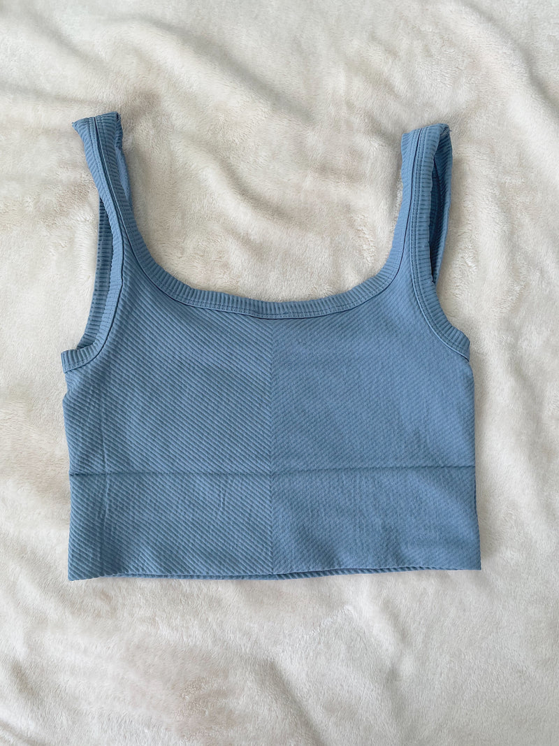 Everyday Detailed Ribbed Tanktop
