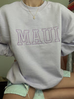 Maui Embroider Sweatshirt