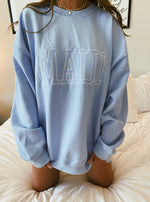 Embroider Maui Sweatshirt