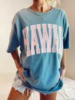 hawaii pink distressed tee Sunkissedcoconut™️