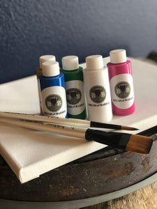 Brush and Barrel™ Paint Kit -Relaxation for One- A Gift