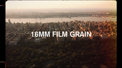 16mm film burn
