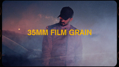 35mm film grain