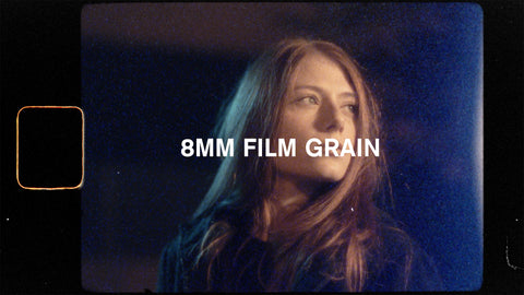 8mm film grain