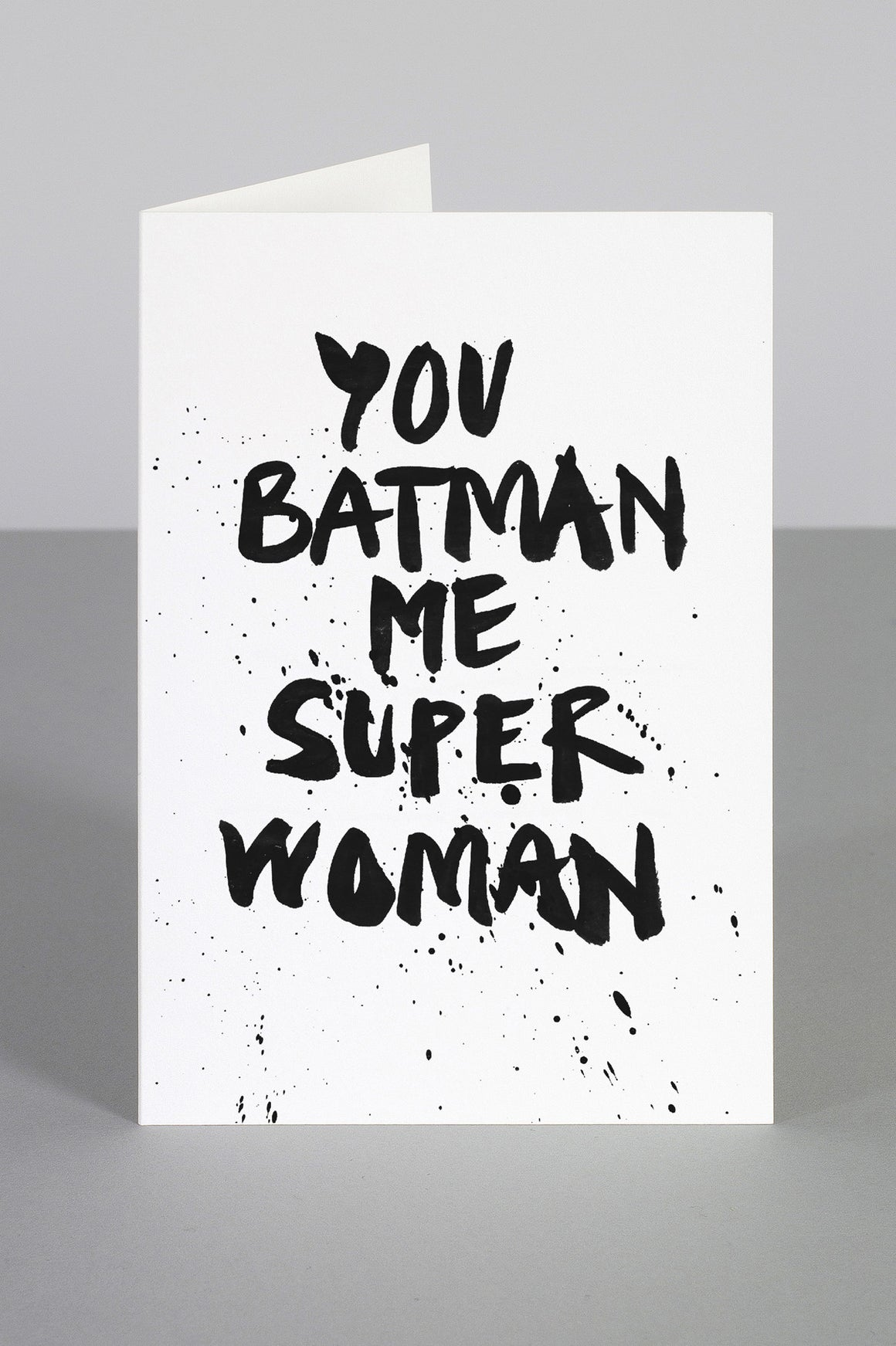 WHOLESALE SUPERHEROES IN LOVE CARD