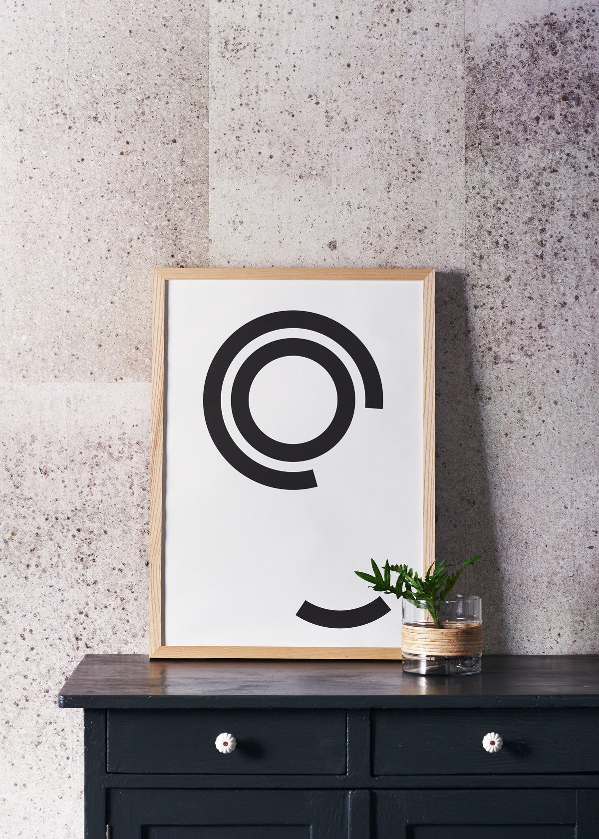 DISTURBED CIRCLES PRINT
