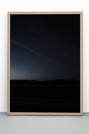 DARK NIGHT HORIZON PRINT, PHOTOGRAPHIC POSTER