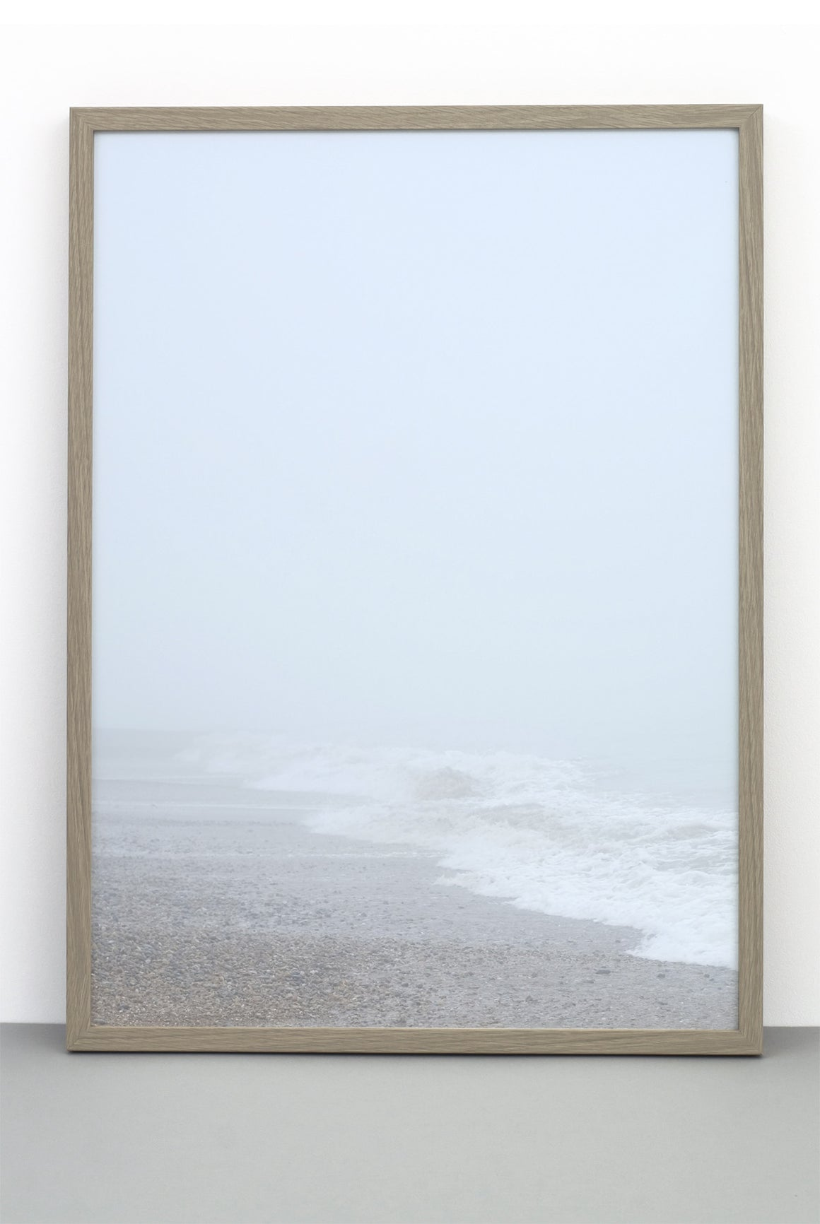 BEACH IN MIST PRINT, PHOTOGRAPHIC POSTER