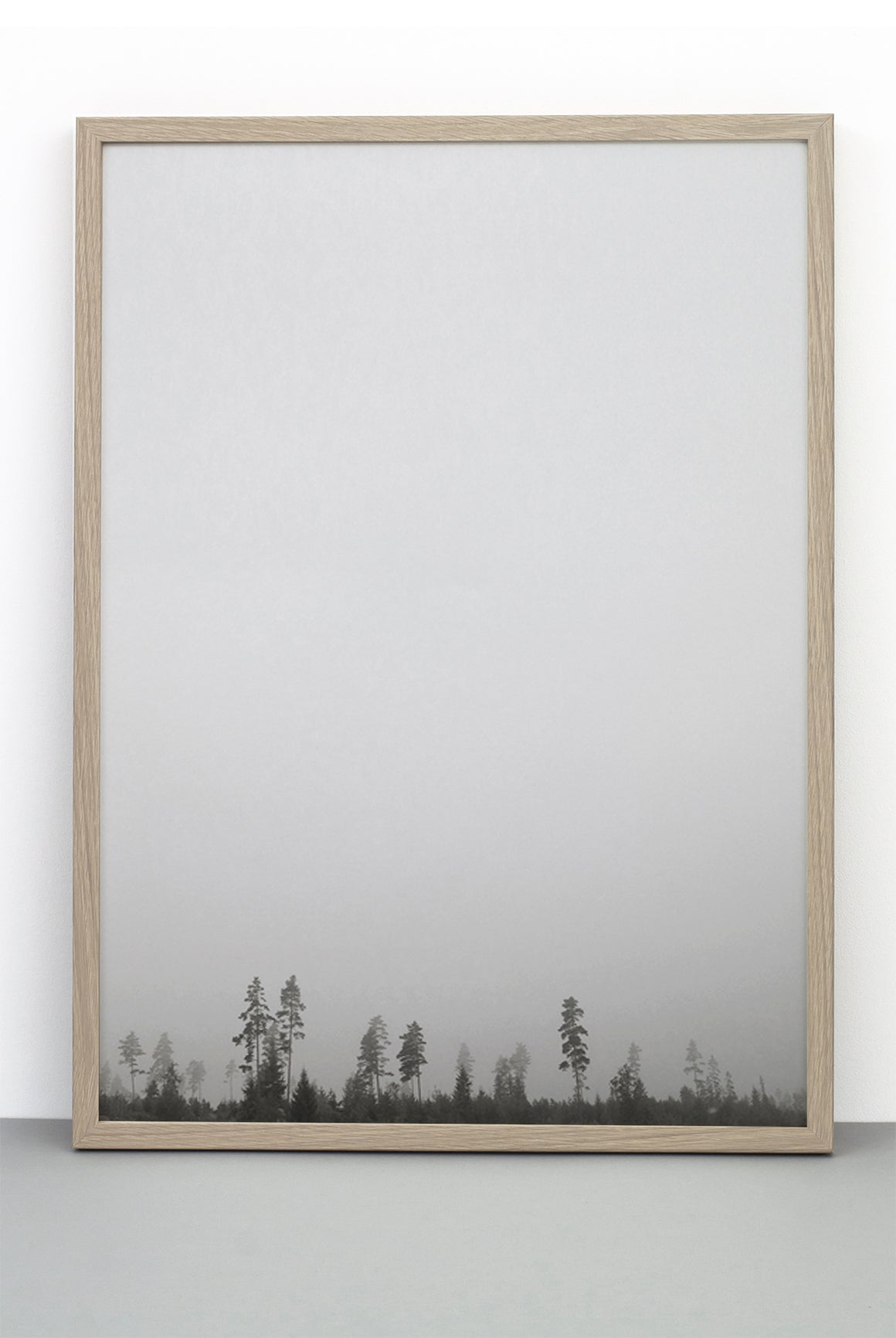 FOREST PRINT, PHOTOGRAPHIC POSTER OF TREES