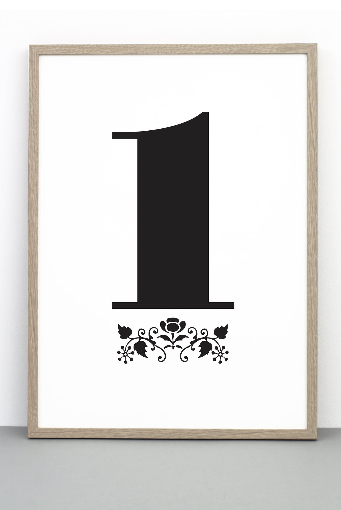 NUMBER 1 DOWNLOADABLE PRINTABLE PRINT