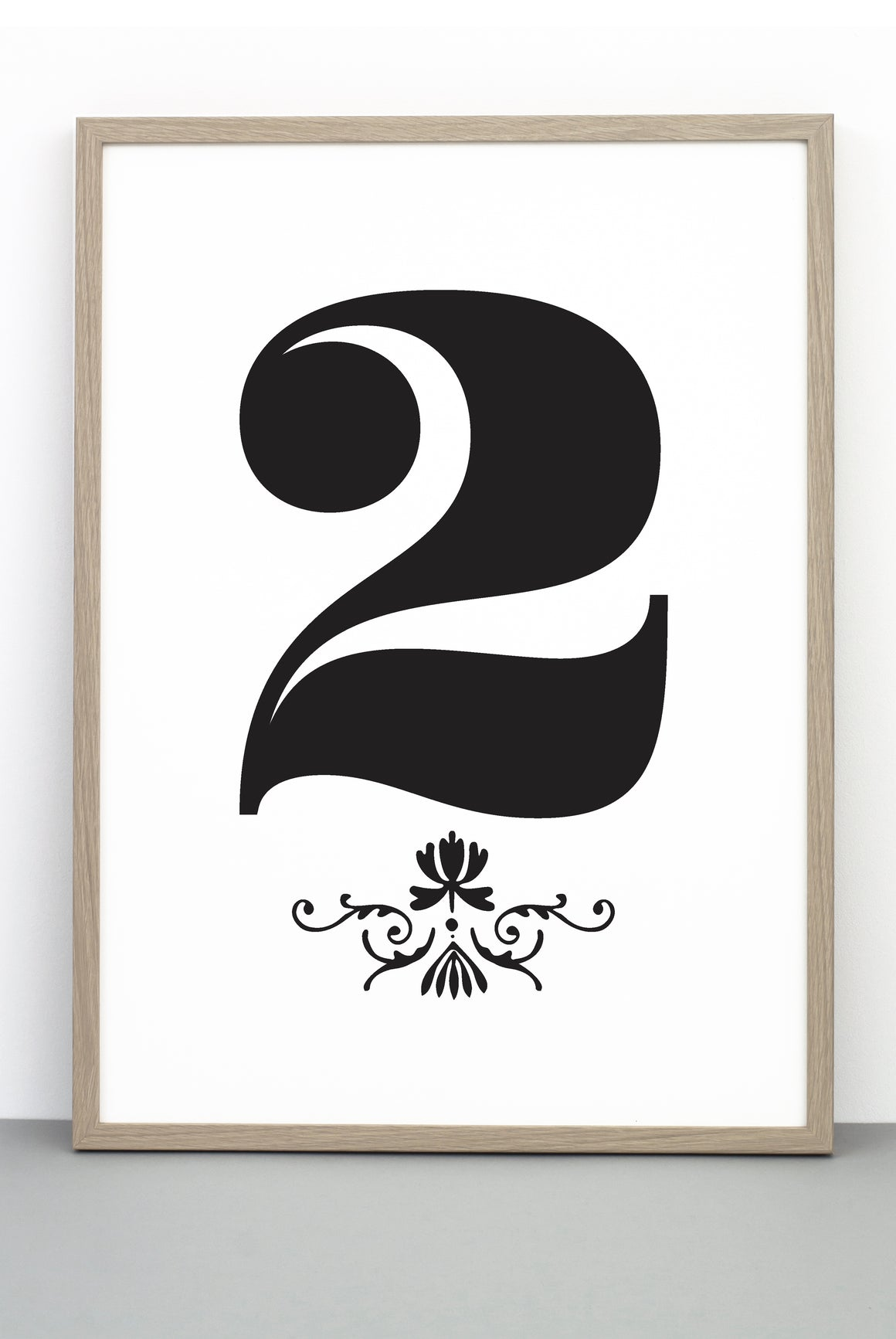 NUMBER 2 DOWNLOADABLE PRINTABLE PRINT