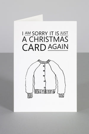 CHRISTMAS CARDIGAN CARD