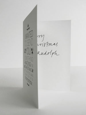 CHRISTMAS IN FRENCH CARD