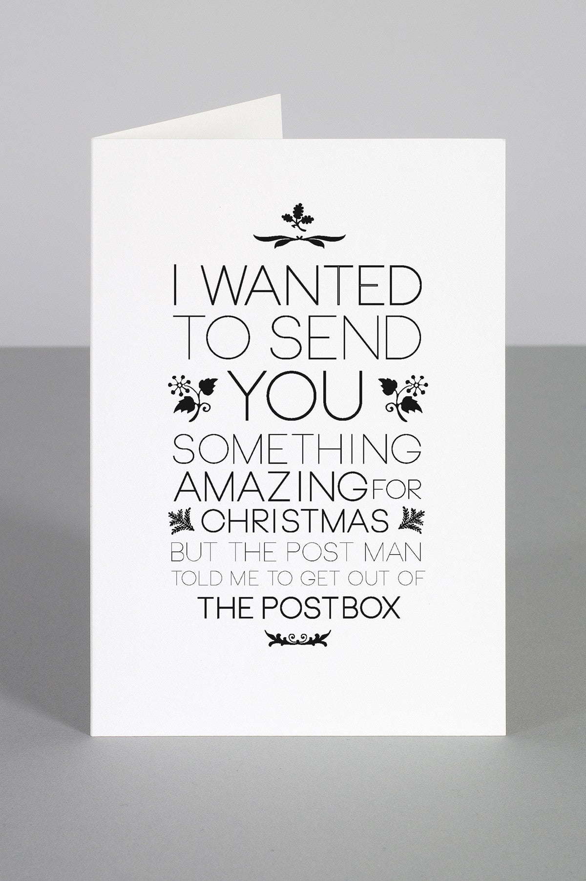 WHOLESALE CHRISTMAS CARDS - One must dash
