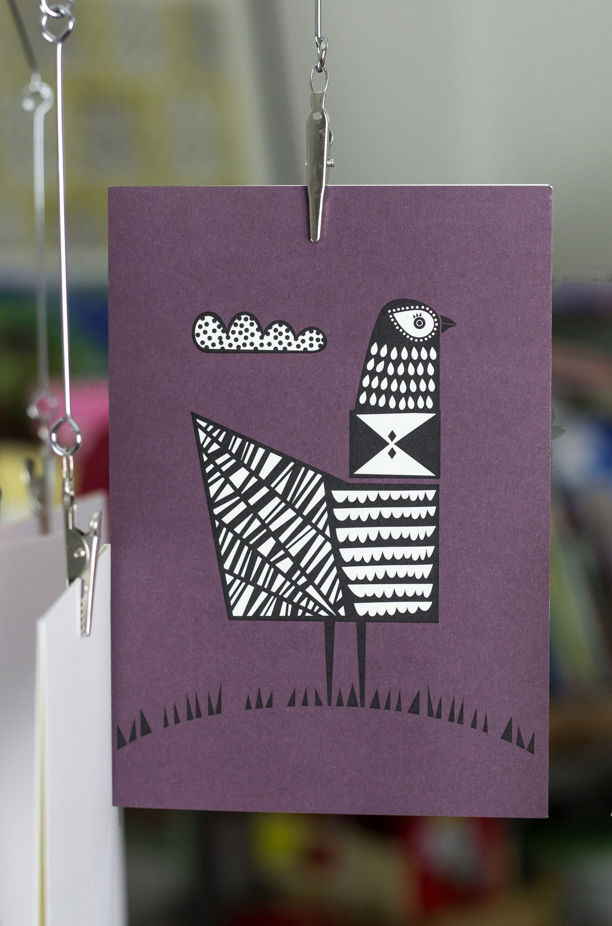 THIS IS A PICTURE OF A BIRD CARD